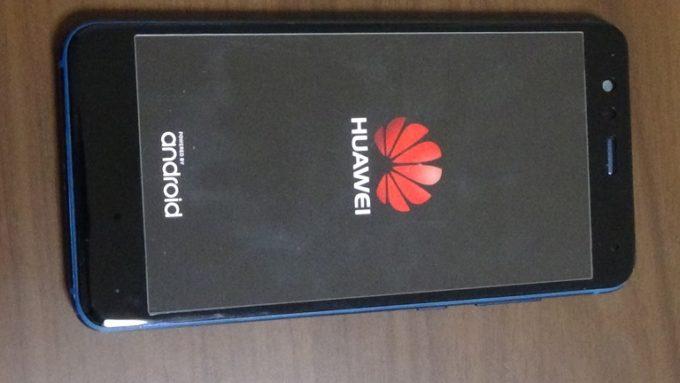 Huawei P10 Liteの修理が成功した写真