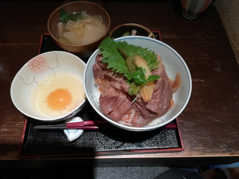 広重の神戸牛丼の写真1
